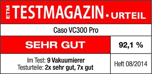 Caso VC 300 Testbericht